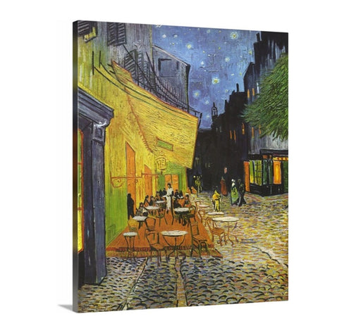 Cafe Terrace at Night by Vincent Van Gogh, Van gogh, Beach, Vincent Van Gogh, Canvas print, Giclee Print, Coffee sign, bar sign, Cafe
