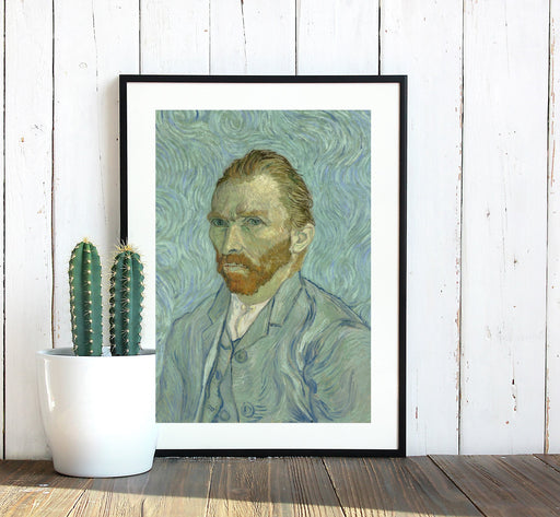 Vincent Van Gogh Self Portrait Classic Art Framed