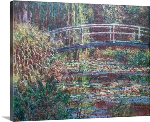 Water Lily Pond by Claude Monet, Classic Art