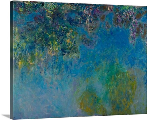 Wisteria by Claude Monet, Wisteria, Claude Monet, Classic Art, Canvas Art Print