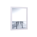 40x60 Picture frame 40x60 Frame White Custom Picture Frame Real Wood and Glass