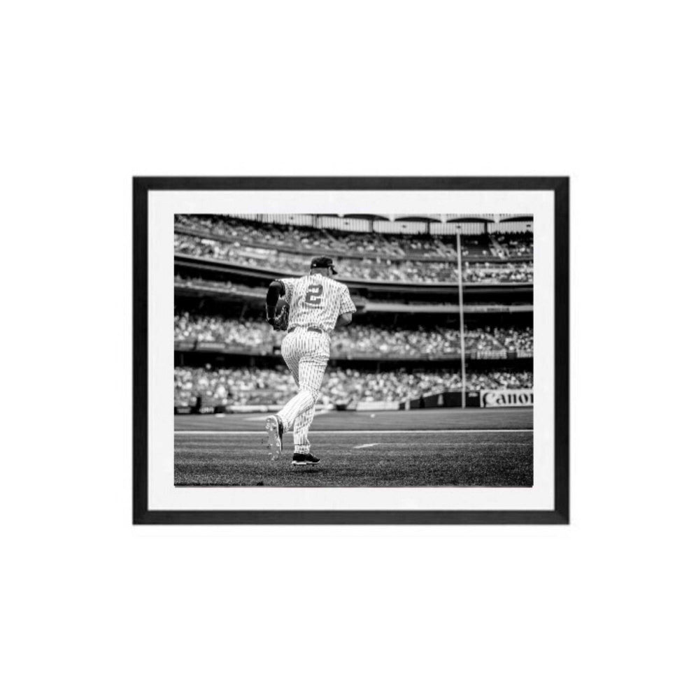 Derek Jeter New York Yankees baseball framed wall art prints, Yankees Derek Jeter Final game wall art print framed