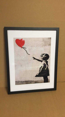 Banksy, Girl with balloon, Banksy prints, Girl Power, Banksy Poster, Graffiti, Girl with balloon, street art, graffiti art