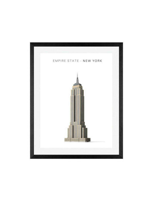 Empire State building Wall Art New York City Print For Wall Decor