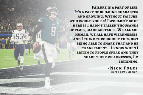 Philadelphia Eagles, Nick Foles, Eagles super bowl, Superbowl MVP,  nick Foles quarterback, Motivational speech, Philadelphia FOles