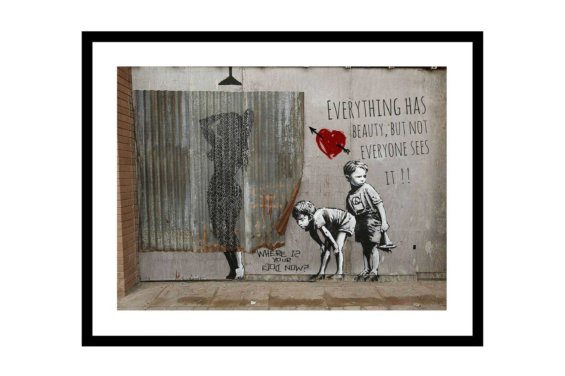 Framed bathroom wall art print funny wall art decor