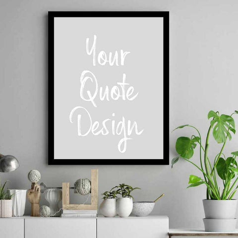 Quote print frame, custom quote print, door sign, hanging sign, metal sign, office sign, quote sign, custom poster, quote print,