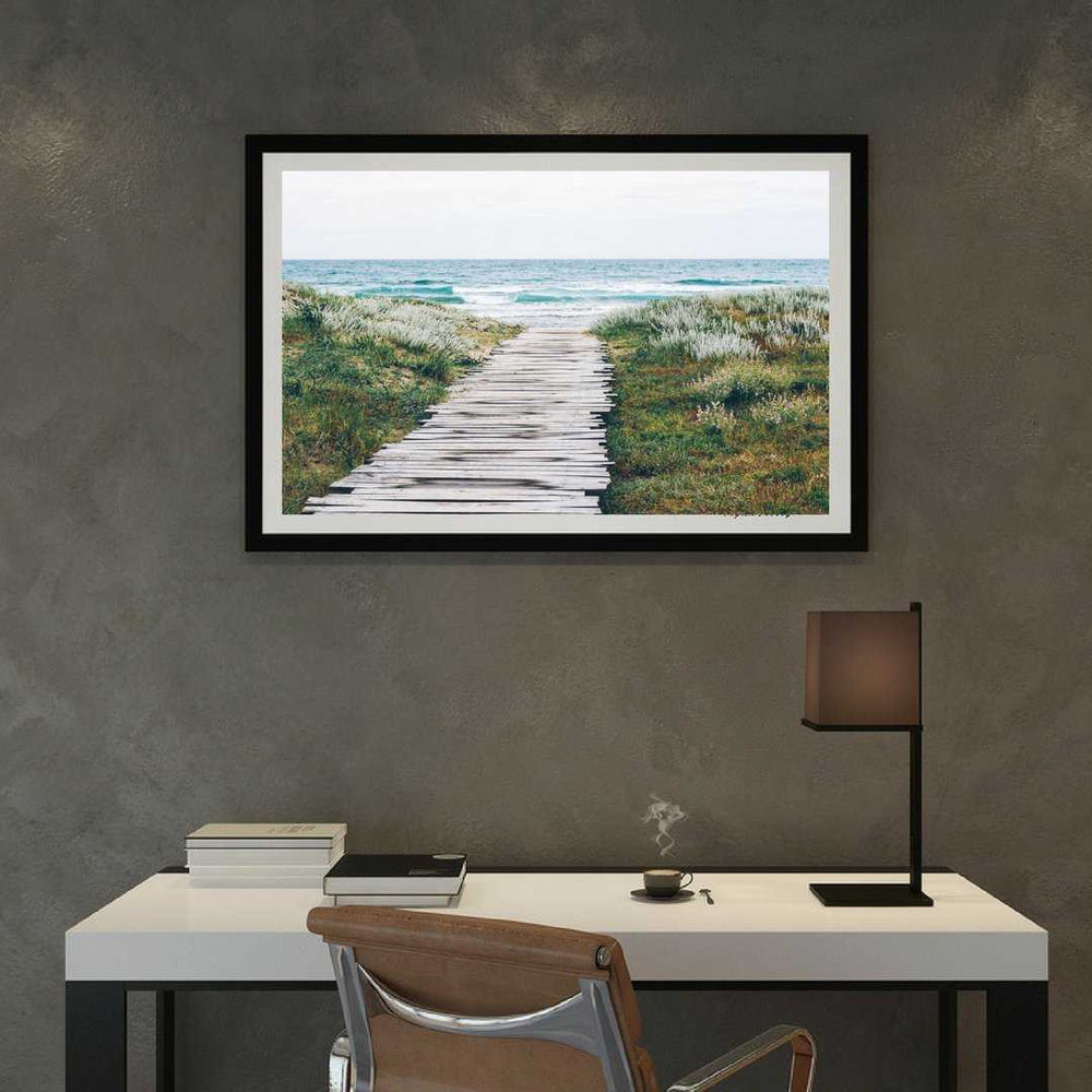 Wall art Beach art Framed wall art