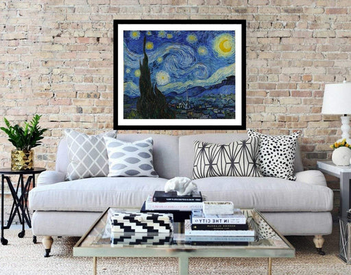 Van Gogh Starry Night Framed Wall Art Print