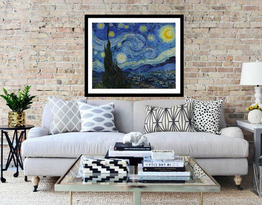 Starry Night Van Gogh framed wall art print