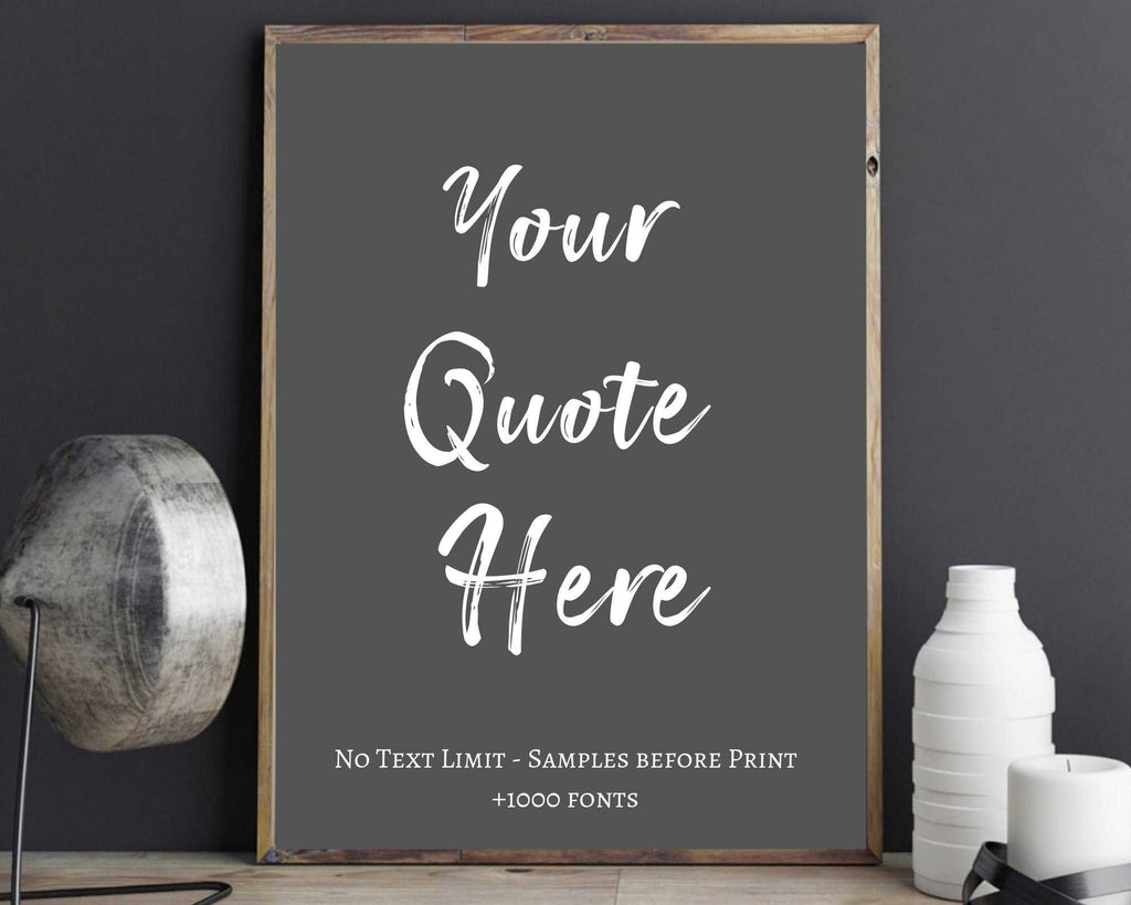 quote print, custom sign birthday,Custom Quote Print, Custom signs, Custom Print, Quote prints, Quotes, Custom typewriter, Personaliz