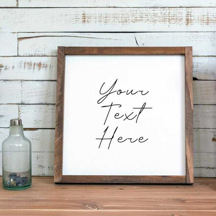 farmhouse wall decor with custom sign wall art decor