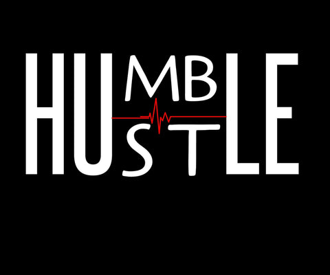 Humble, Hustle, birthday,11x14 framed birthday,Custom quote framed, Wall art, Motivational Quotes