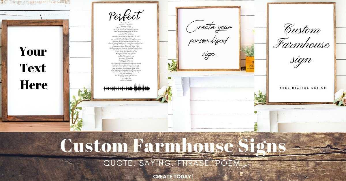 Personalized Barnwood Frame Wall Art with custom text wall art decor