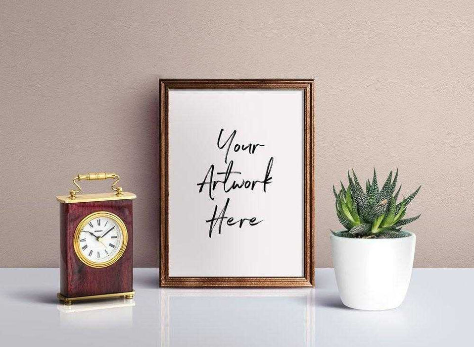 Word art quote home wall decor art print