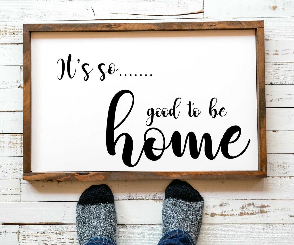 Home Sign Wall Art