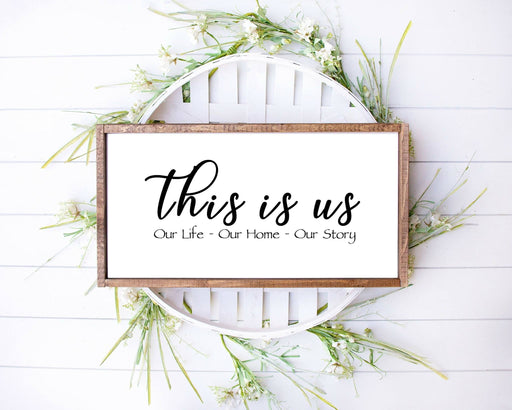 This is us farmhouse rustic Farmhouse wood sign