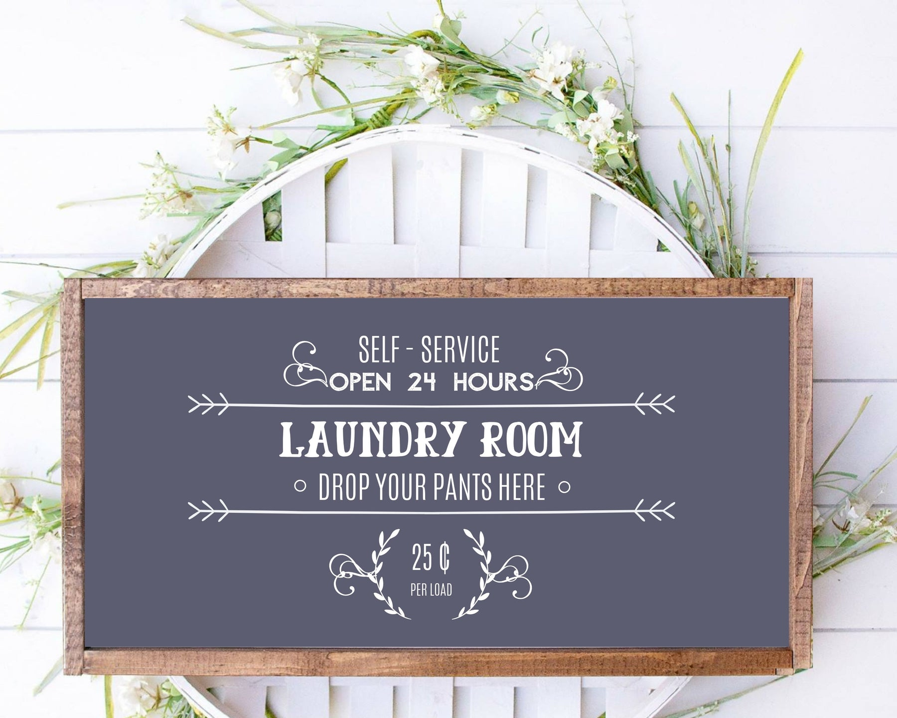 laundry room wood sign, 12x18 personalized wood sign, laundry  art decor, home wall art laundry wall art decor
