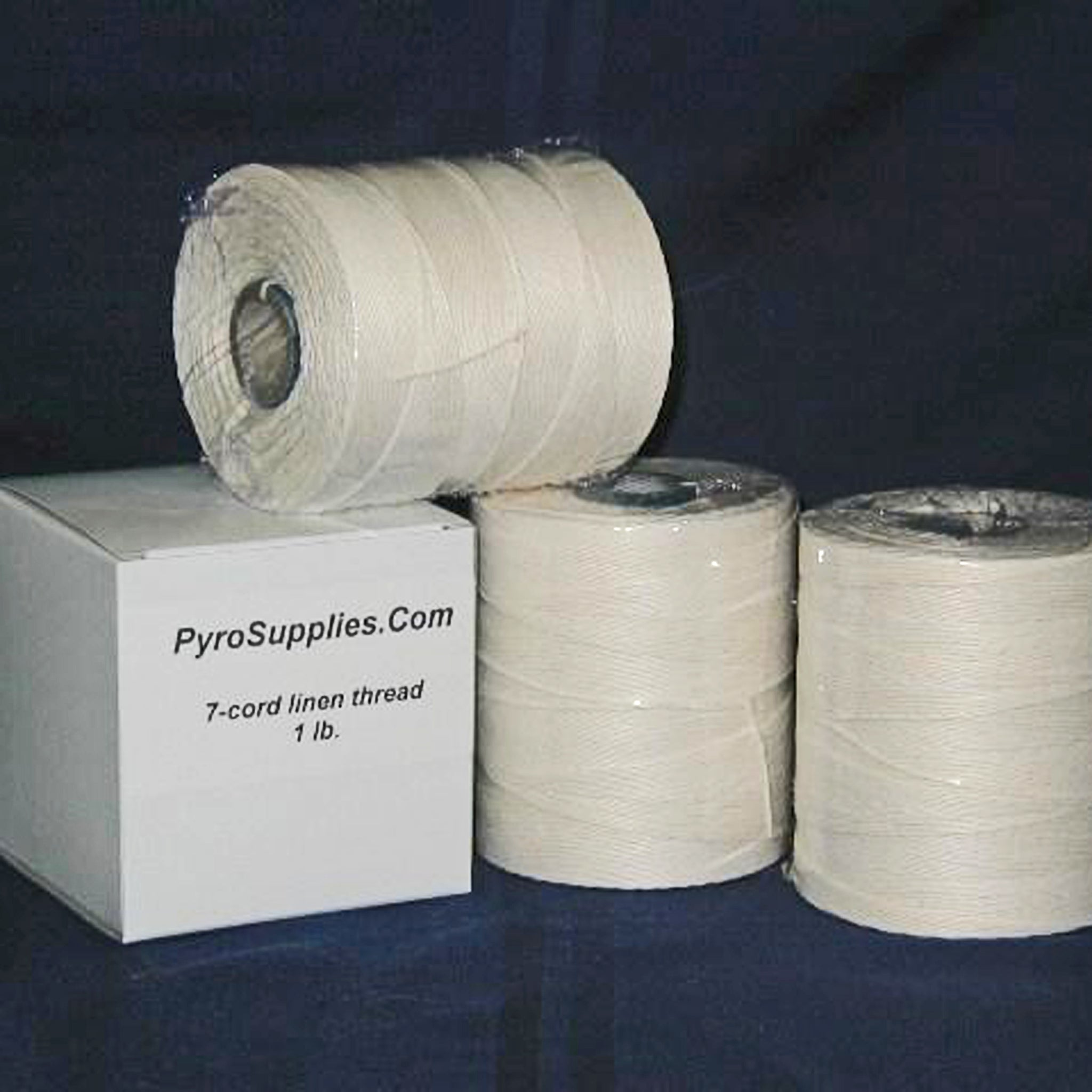 Imported Linen Flax Twine - 4, 5, 6, or 7 Cord - Case of 24 Spools