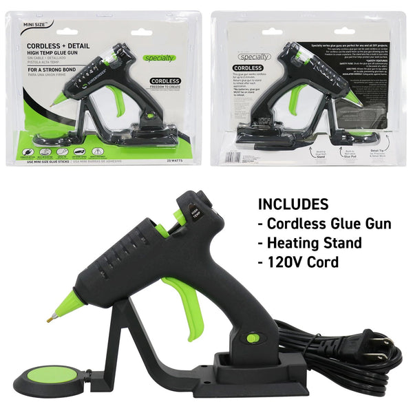 Cordless Detailer High Temp Mini Glue Gun