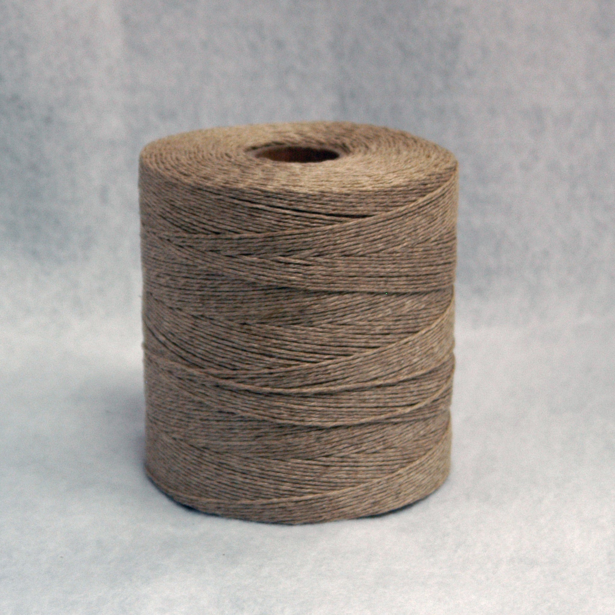Domestic Six Strand Natural Flax Twine - Bulk Case of 24 Spools