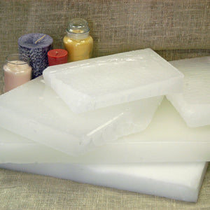 Paraffin - Blends Wax - Container Blend 1 - Slabs, Creamy