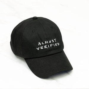 almost verified hat