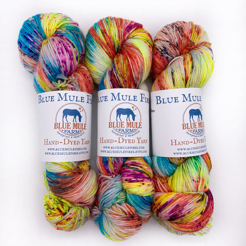 Blue Mule Fibers Cherokee Longman Fingering weight