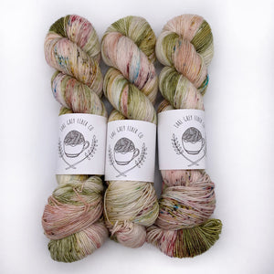 Earl Grey Fiber Co Desert Bloom Sock Weight