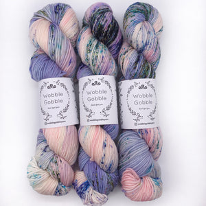 Wobble Gobble Blueberry DK weight