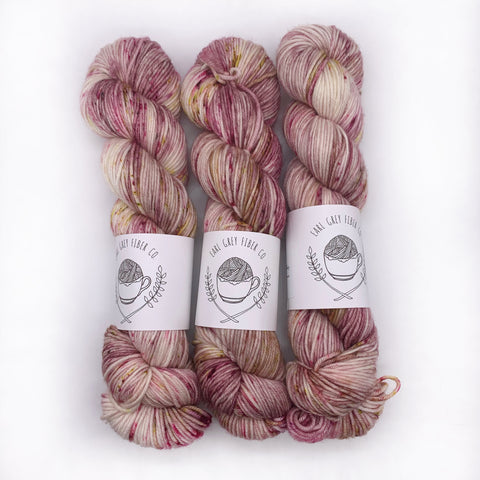 Earl Grey Fiber Co Rose Apothecary DK weight