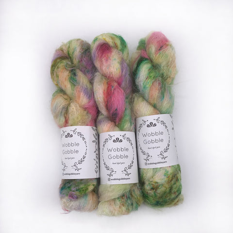 Wobble Gobble Bouquet Worsted weight