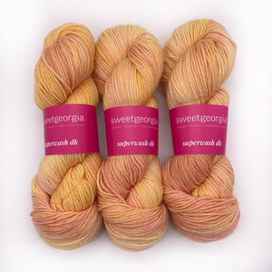 Sweet Georgia Peachy DK weight