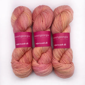 Sweet Georgia Rose Gold DK weight
