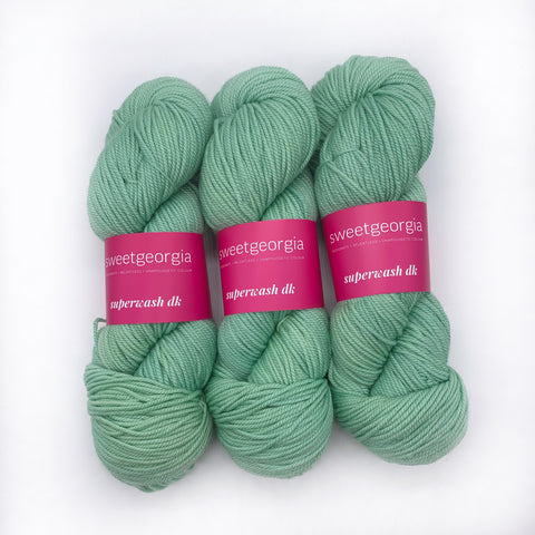 Sweet Georgia Spearmint DK weight