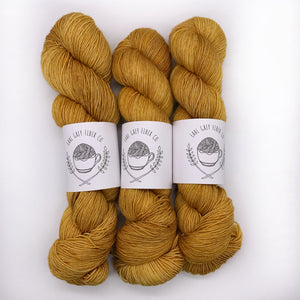 Earl Grey Fiber Co Stay Gold Sock weight