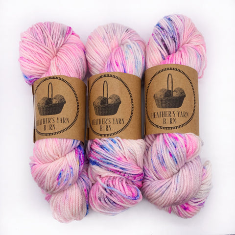 Heather's Yarn Barn Cotton Candy Ice Cream Worsted weight