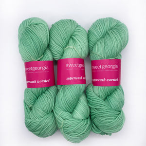 Sweet Georgia Spearmint Worsted weight