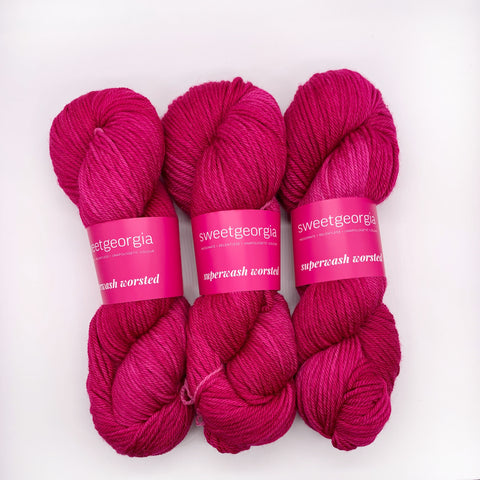 Sweet Georgia Orchid Worsted weight
