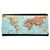 World Map Designer Ladies Clutches / Wallet