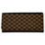 Brown Square Design Designer Ladies Clutches / Wallet