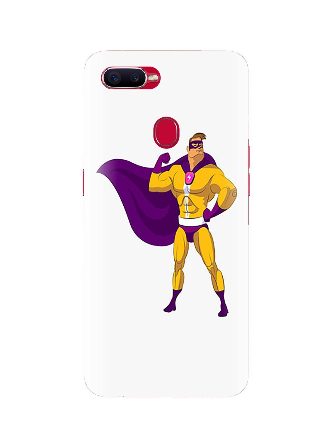 Flash man Printed Mobile Case For Oppo F9 / F9 Pro