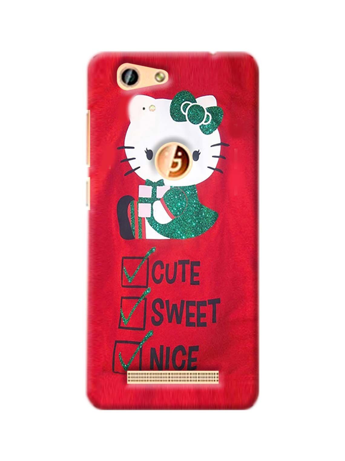 Hello Kitty Printed Mobile Case For Gionee F103 Pro