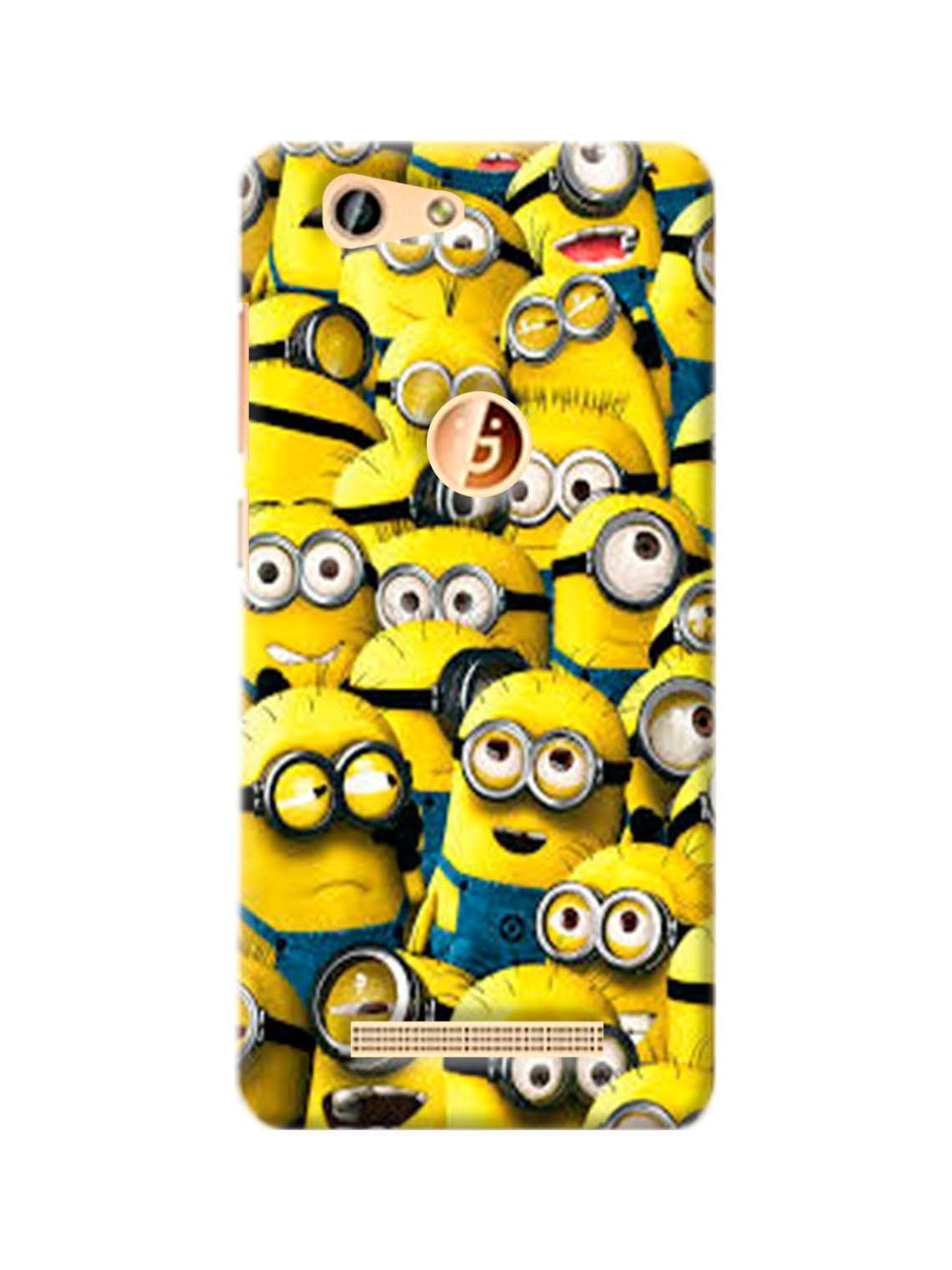 Minion Poster Printed Mobile Case For Gionee F103 Pro