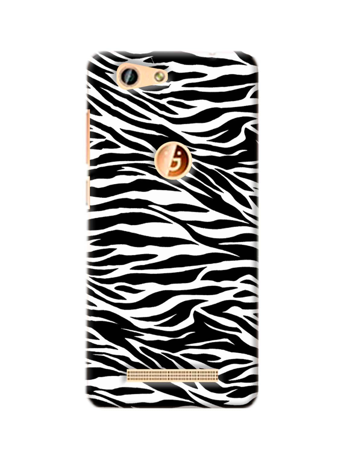 Zebra Texture Printed Mobile Case For Gionee F103 Pro