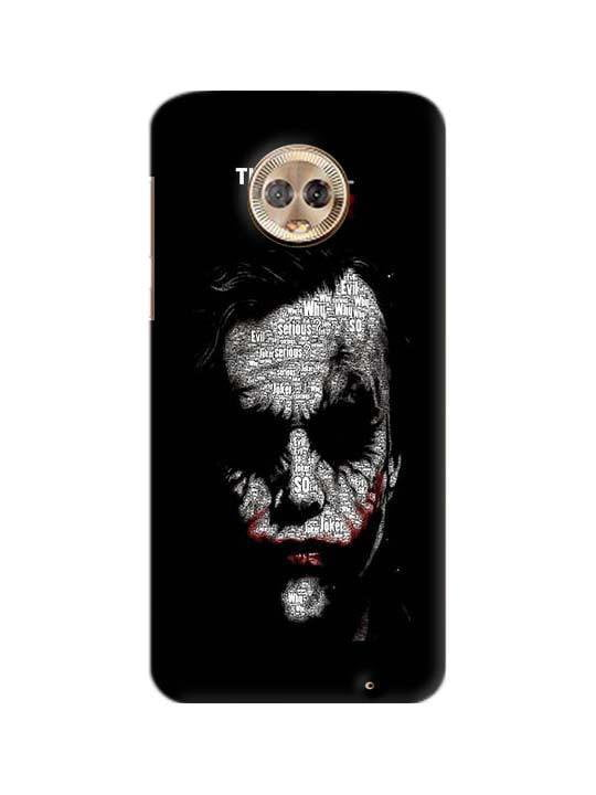 sports shoes 04c58 48a36 Joker Pinted Mobile Case For Moto G6 Plus