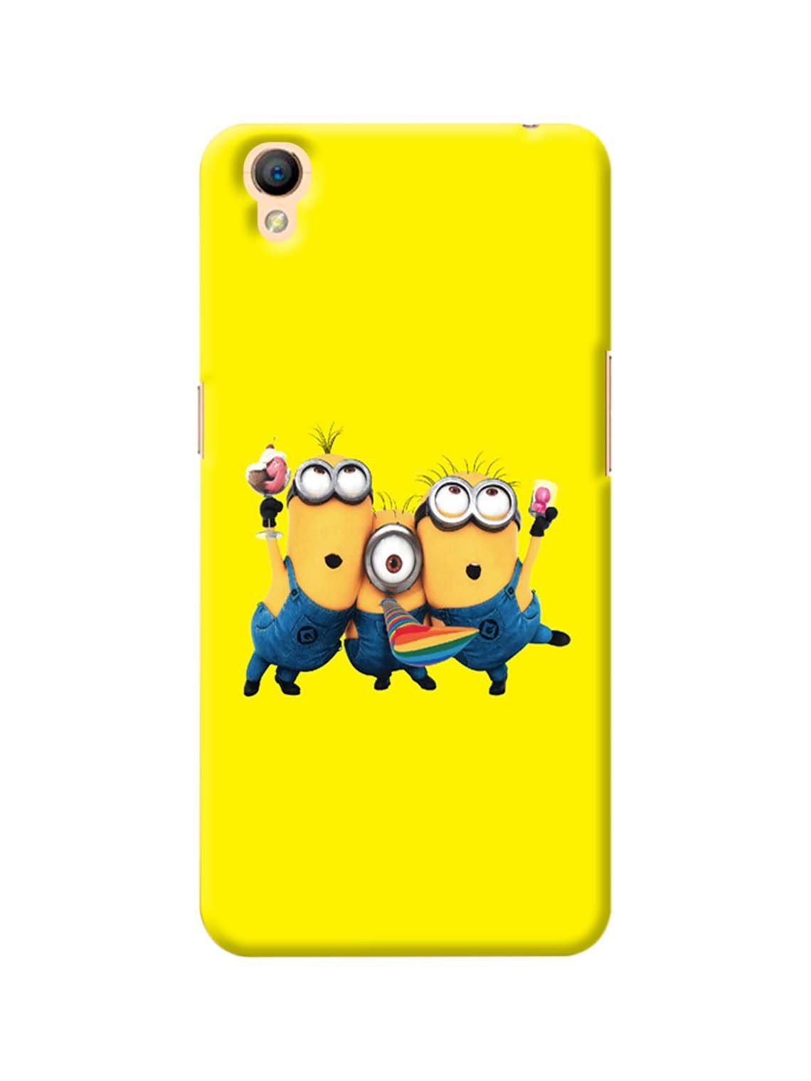 Minion Party Printed Mobile Case For Oppo A37