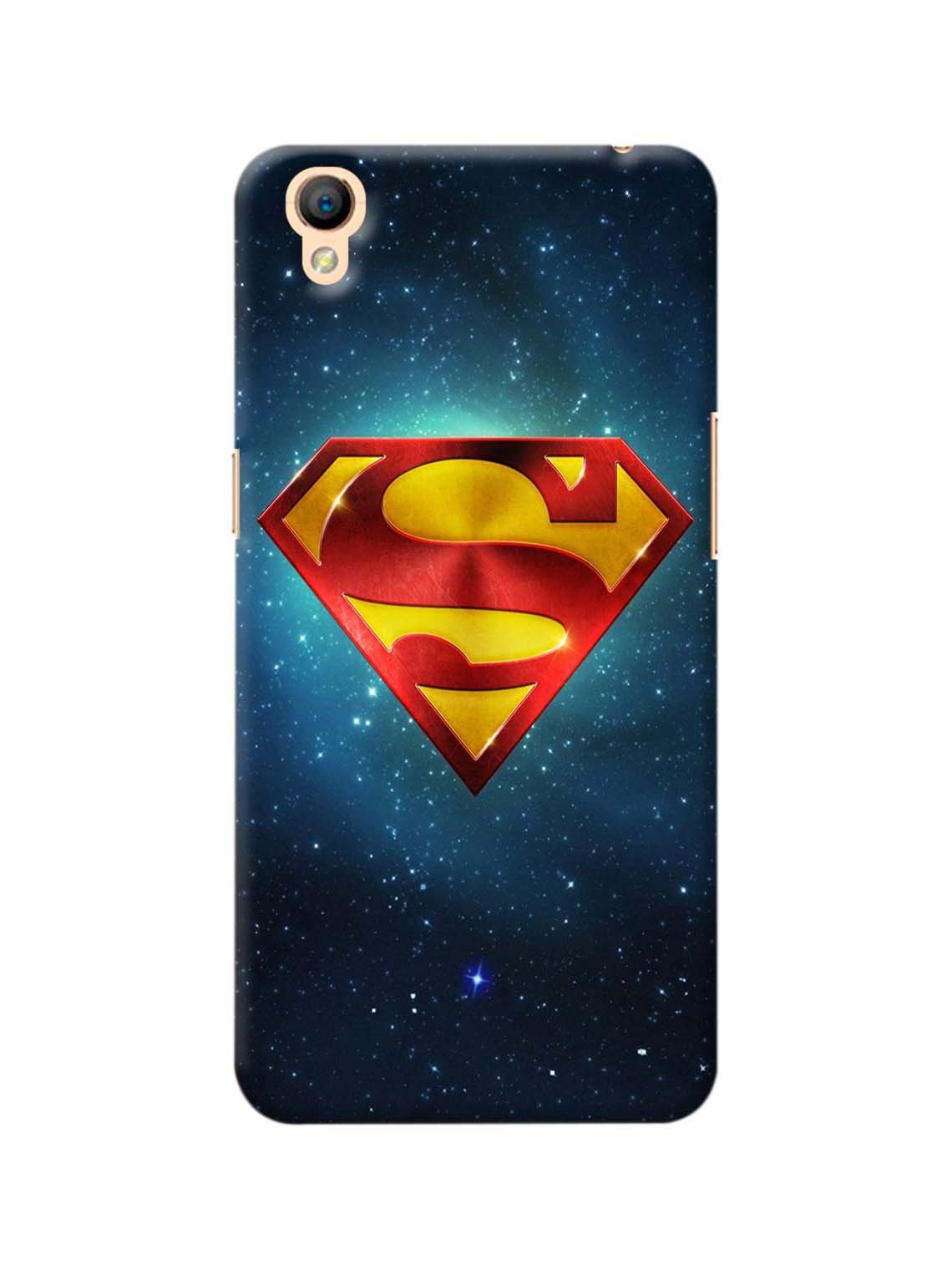 Superman Symbol Printed Mobile Case For Oppo A37