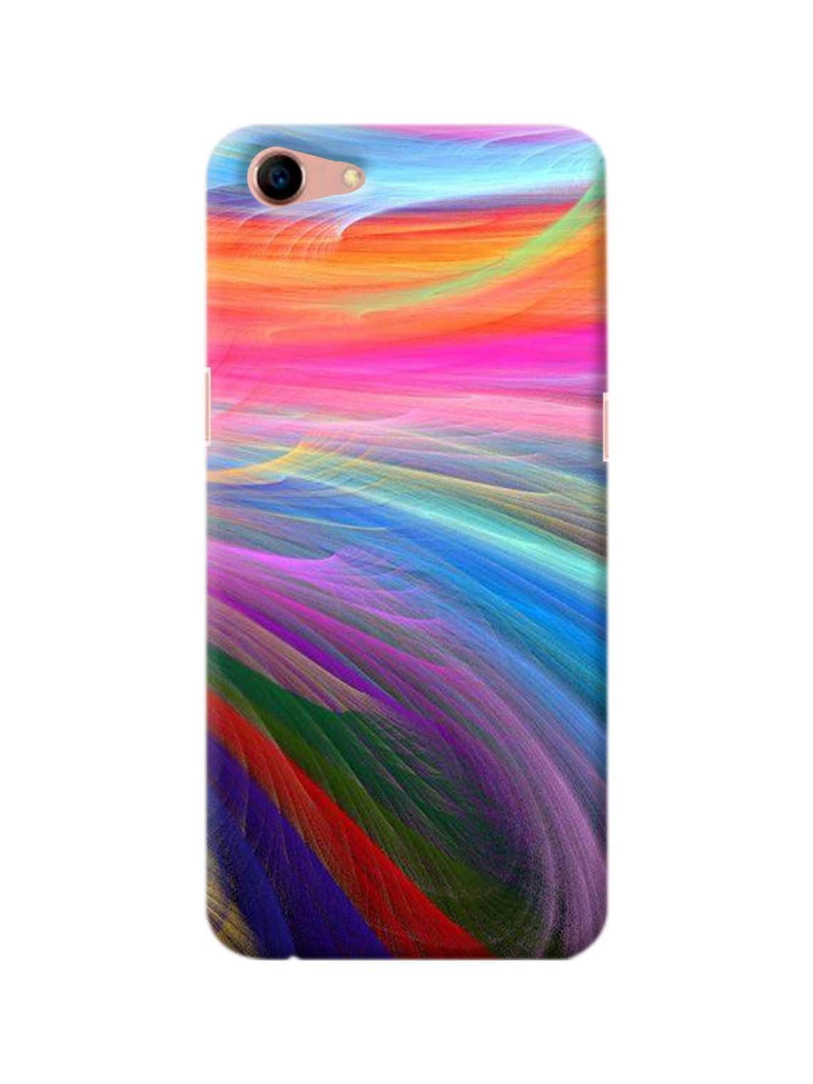Color Vibes Printed Mobile Case For Oppo A83