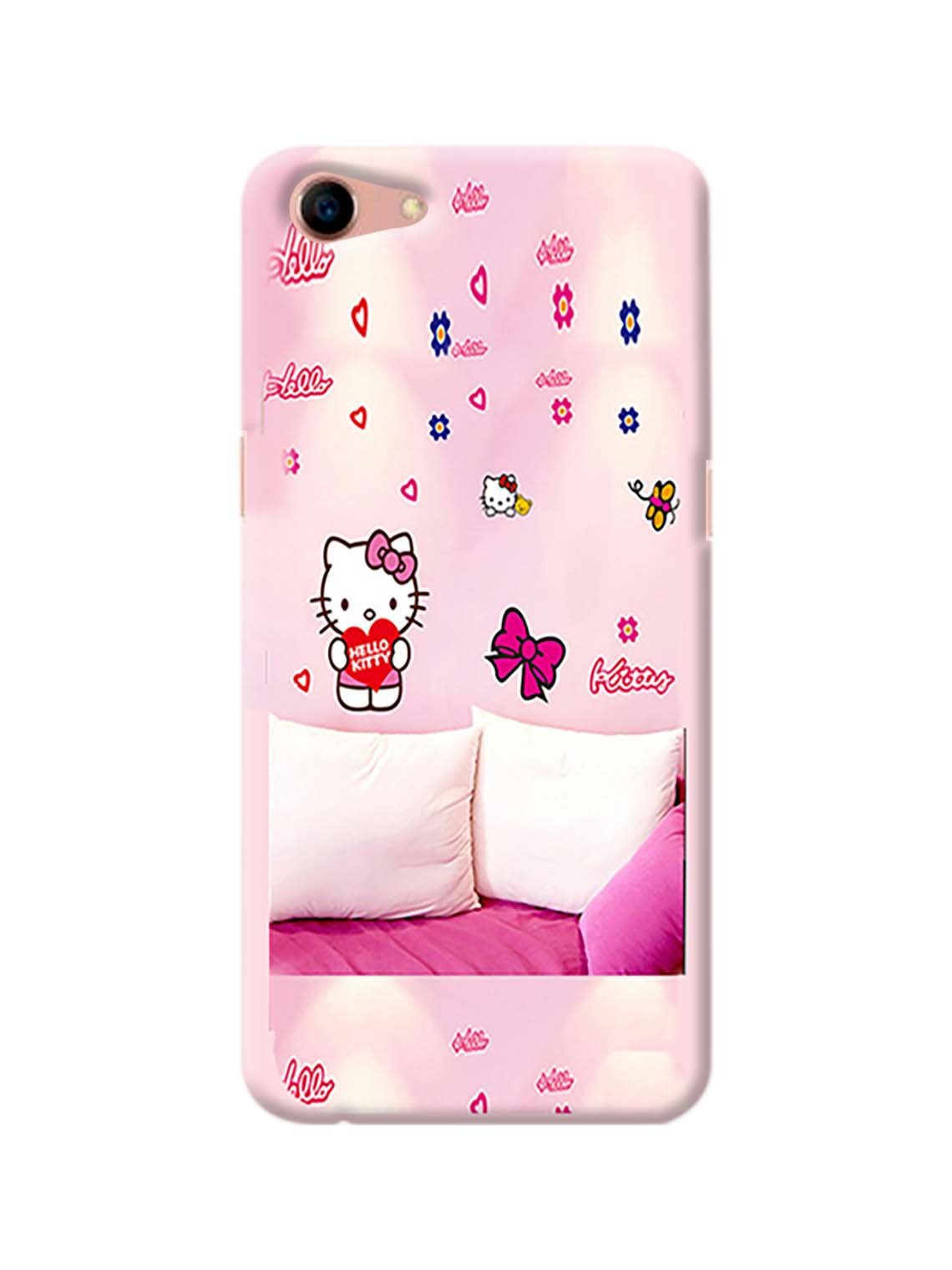 Hello Kitty Printed Mobile Case For Oppo A83
